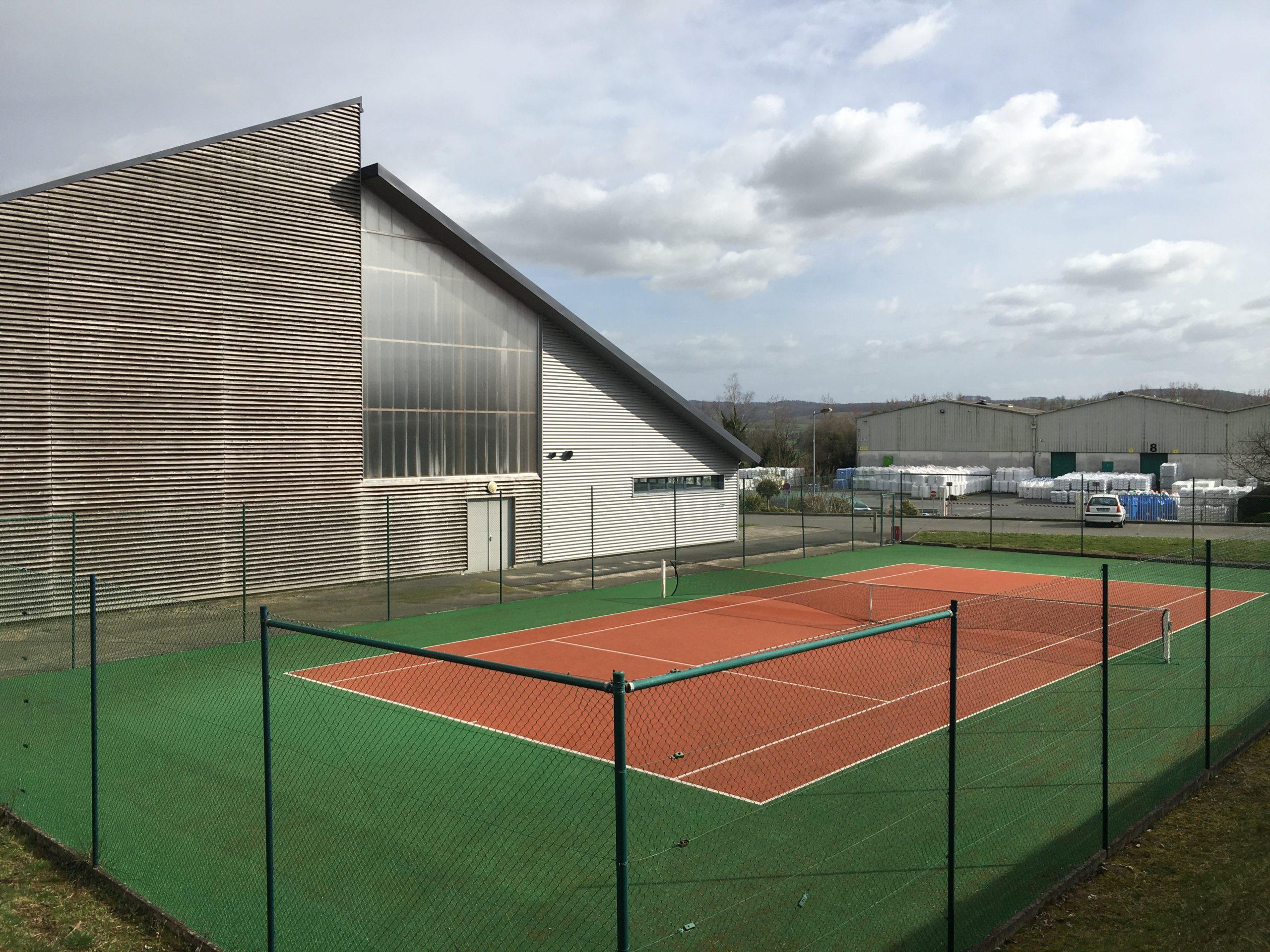 tennis et halle des sports