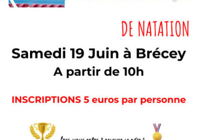 6h de natation samedi 19 juin à Brécey